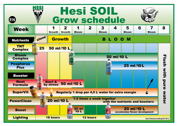 HESI Phosphorus Plus feeding schedule